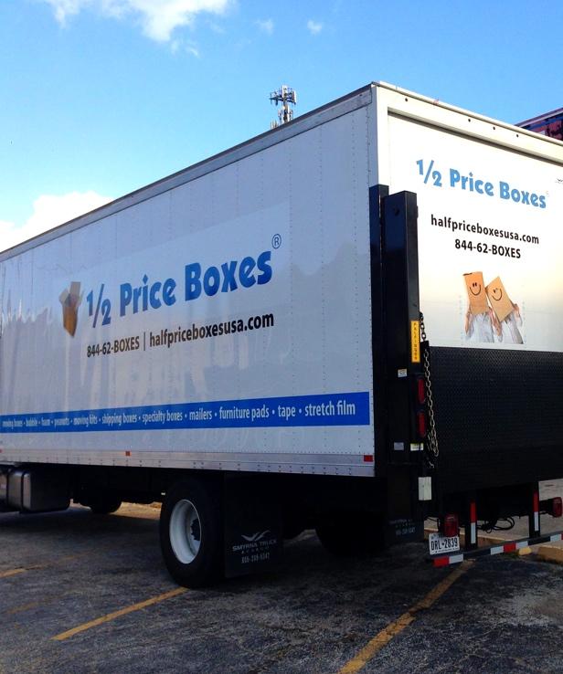 Half Price Boxes Truck