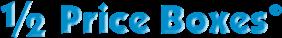 1/2 Price Boxes Logo
